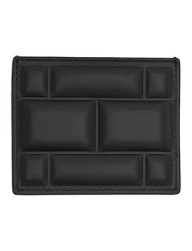 Ssense Exclusive Black High Frequency Imbottiture Card Holder by Bottega Veneta