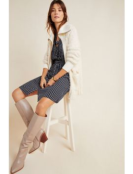 Bethenny Zip Front Cardigan by Anthropologie