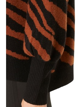 Tiger Stripe Sweater by French Connection