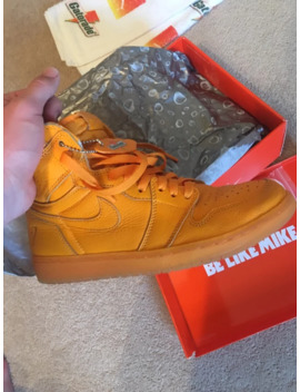 Jordan 1 Gatorade Orange by Jordan Brand  ×  Gatorade  ×