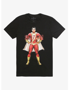 Dc Comics Shazam! Poster T Shirt by Hot Topic