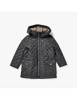 Trey Coat (Little Kids/Big Kids) by Burberry Kids