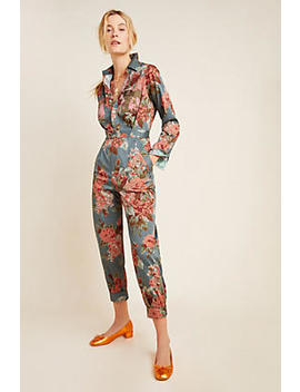 Fiona Utility Jumpsuit by Anthropologie