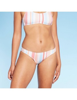 Women's Hipster Bikini Bottom   Xhilaration™ Stripe by Xhilaration