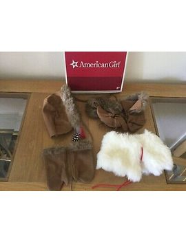 American Girl Kaya's Winter Accessories   Hat, Cape, Boots, Mittens Brand New! by American Girl