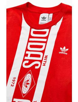 Adidas Print Scarf T Shirt by Pacsun