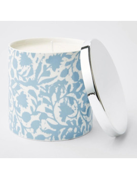 Printed Candle With Lid   Thai Coconut & Lychee by Target