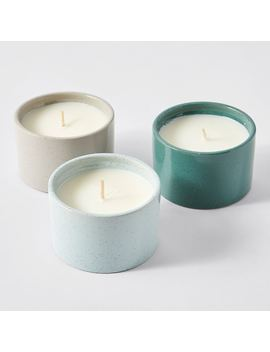 3 Pack Ceramic Citronella Candles by Target