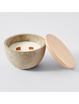 Concrete Citronella Candle Bowl by Target