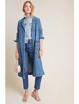 Peggy Denim Duster Jacket by Anthropologie