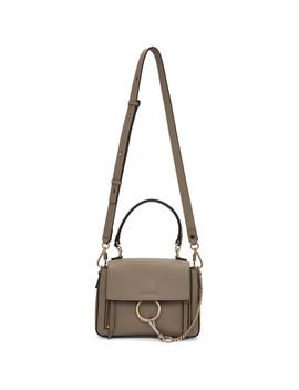 Grey Mini Faye Day Bag by ChloÉ