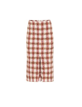 Tweed Midi Skirt by Victoria Beckham