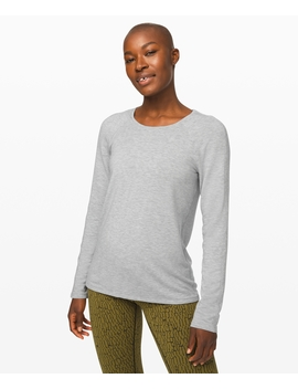 Emerald Long Sleeve Terry New Stretch French Terry by Lululemon