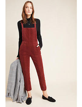 Ag The Isabelle Paneled Denim Overalls by Ag Jeans