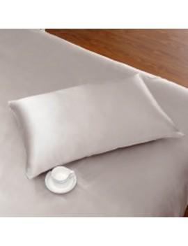 22 Momme Terse Silk Pillowcase With Hidden Zipper by Lily Silk