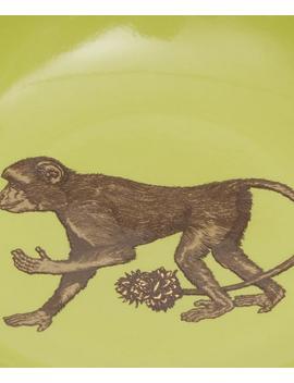 Puddin' Head Monkey Mini Plate by Avenida Home