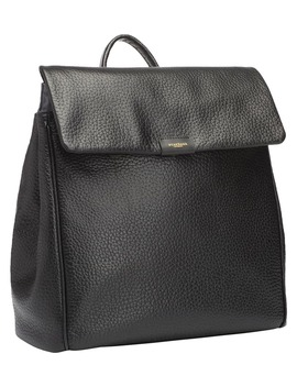 St. James Convertible Leather Diaper Backpack by Storksak