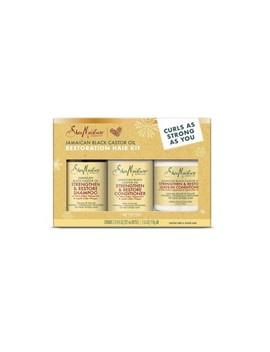 Shea Moisture Jamaican Black Castor Oil Restoration Hair Kit by Shop This Collection