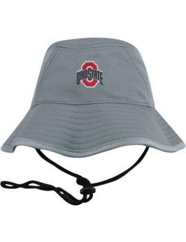 Top Of The World Men's Ohio State Buckeyes Grey Bucket Hat by Top Of The World