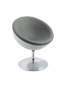Cor Living Mod Modern Bonded Leather Circular Chair by Walmart