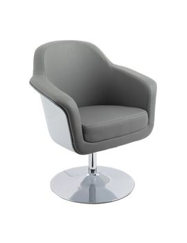 Cor Living Mod Modern Bonded Leather Accent Chair by Walmart