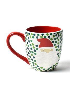 Ho Ho Santa Mug by Coton Colors