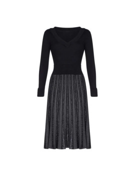 Knitted Sparkle Dress by Yumi