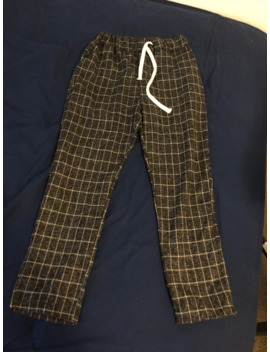 Rich Plaid Flannel Pants by Japanese Brand  ×
