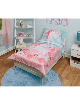 Unicorn Toddler Sheet Set Pink by Funhouse!