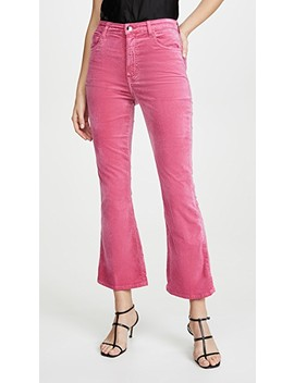 Julia High Rise Flare Pants by J Brand