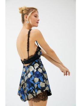 For Love & Lemons Madame Brocade Cutout Dress by For Love & Lemons