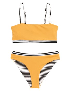Reversible Bandeau Two Piece Swimsuit by Seed Heritage