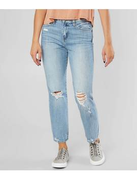 High Rise Stretch Cropped Jean by Flying Monkey