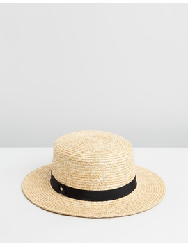 Thalia Straw Boater by Ace Of Something