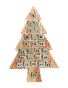 23x36 Advent Tree by Tj Maxx