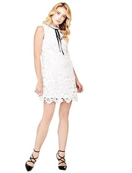 Marciano Lace Dress With Bow by Guess