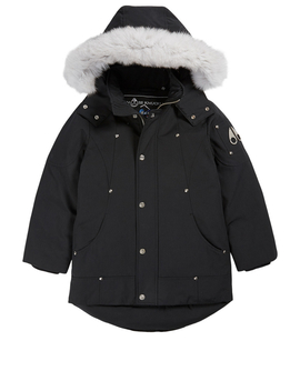 Kids Down Parka With Fur Hood by Holt Renfrew