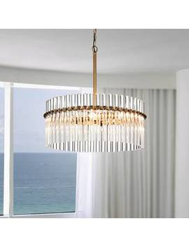 Neva 4 Light Crystal Chandelier by Mercer41