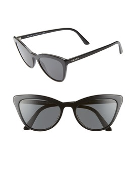 56mm Cat Eye Sunglasses by Prada