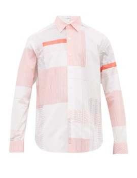 Logo Print Cotton Shirt by Loewe