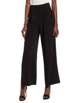 Pleated Wide Leg Pants by Endless Rose