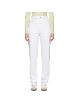 White Corsyj Jeans by Isabel Marant Etoile