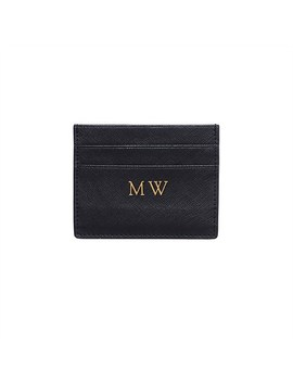 Black Double Cardholder by The Daily Edited