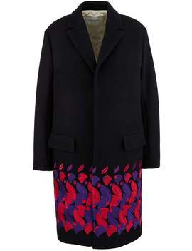 Embroidered Wool Coat by Embroidered Wool Coat