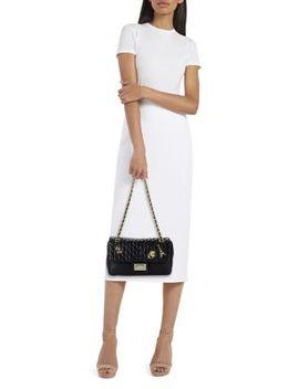Agness Leather Shoulder Bag by Karl Lagerfeld Paris