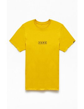 Vans Gold Easy Box T Shirt by Pacsun