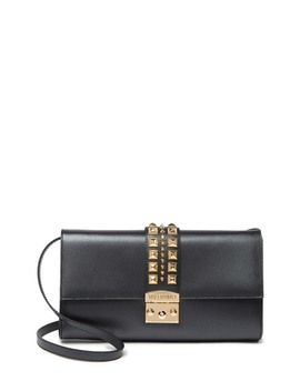 Cocotte Studded Leather Shoulder Bag by Valentino By Mario Valentino
