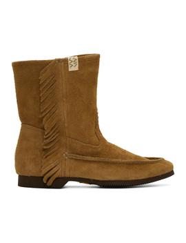 Tan Nakona Folk Boots by Visvim
