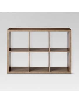 "6 Cube Organizer Shelf 13""   Threshold™ by Shop Collections"
