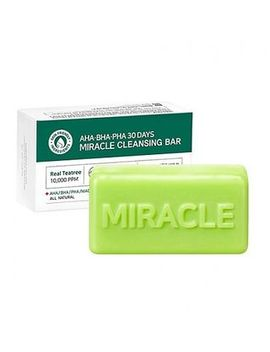 Some By Mi   Barra Limpiadora Aha, Bha, Pha 30 Days Miracle Cleansing Bar 1 Ud. by Some By Mi